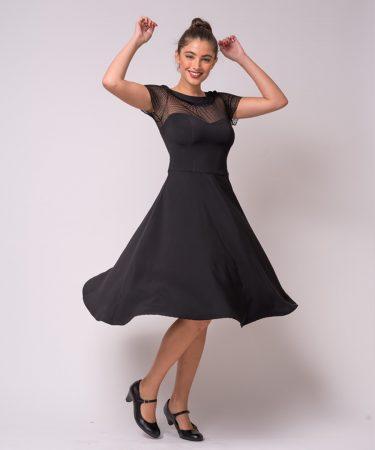 שמלה שחורה לאירוע