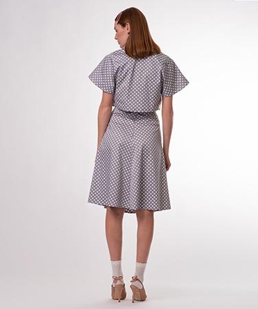 חצאית פרקר