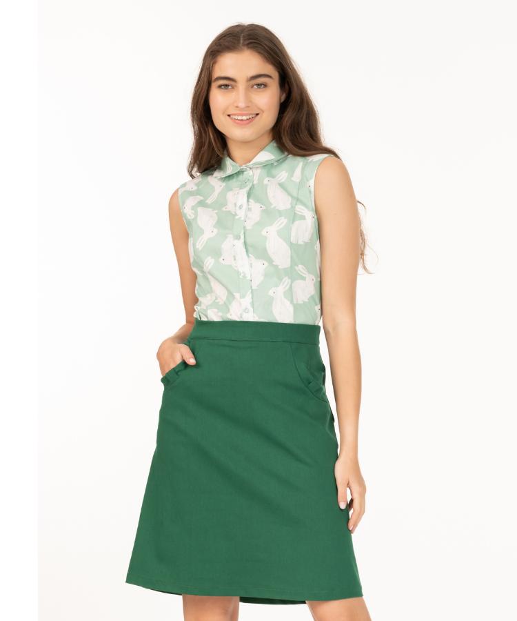 חצאית טומי ירוק