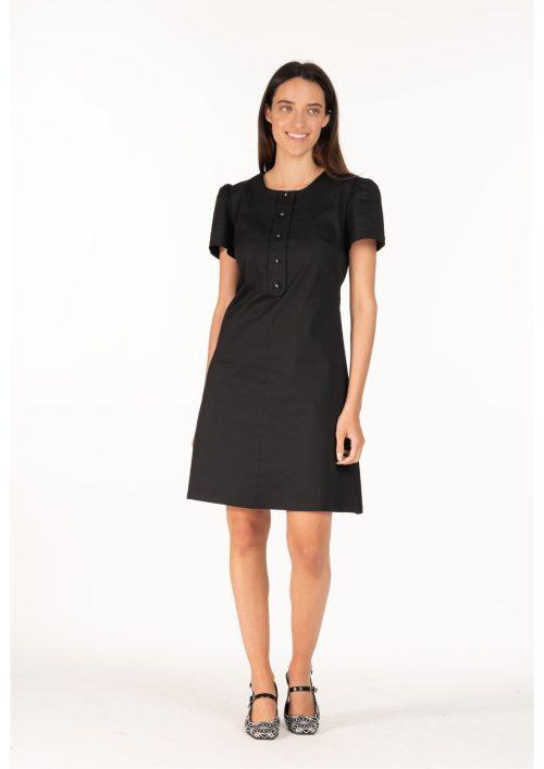 שמלת קולט שחור