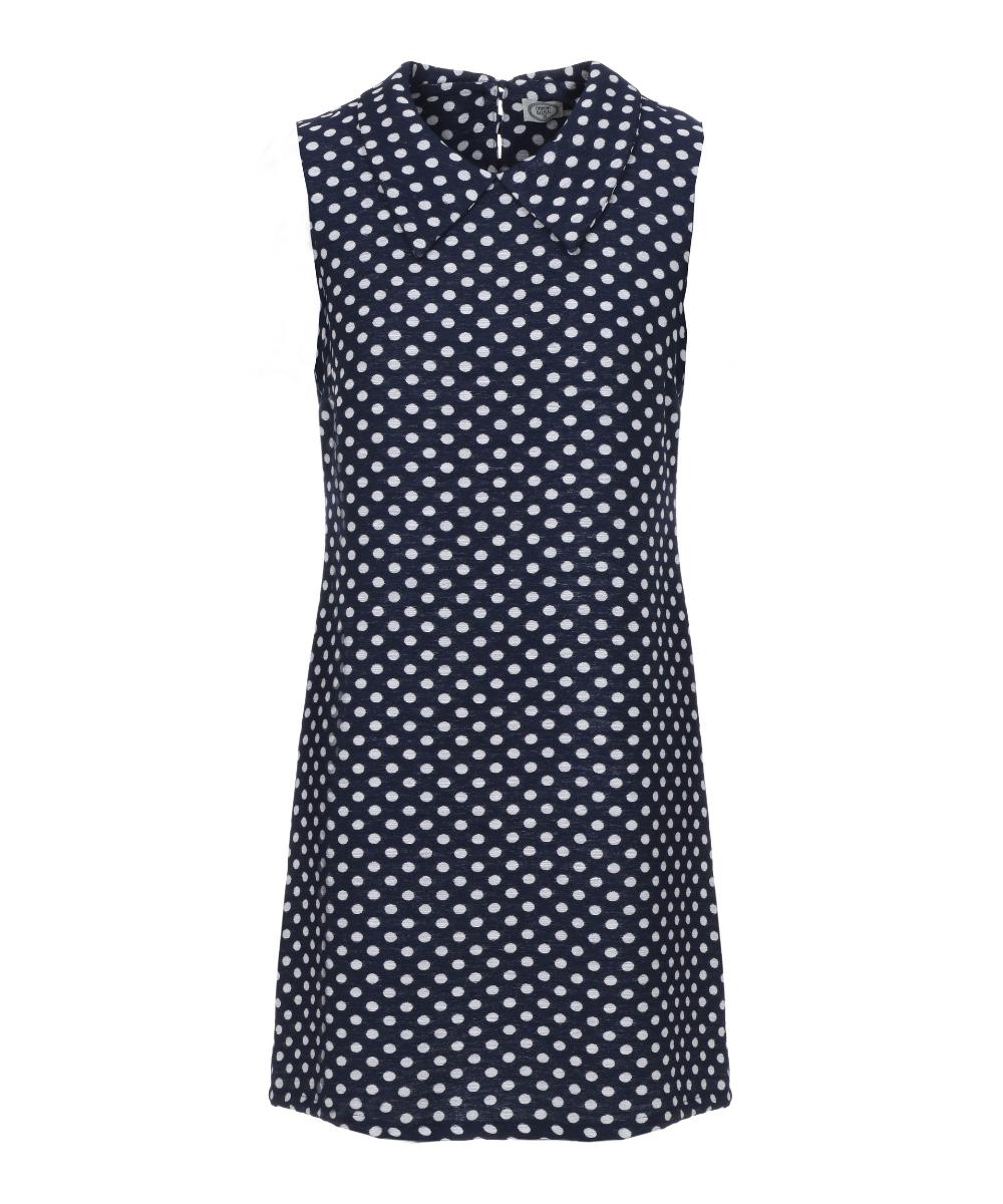 שמלת הני כחול נקודות